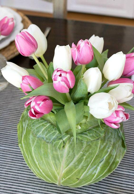 Весна в доме-необычные вазы