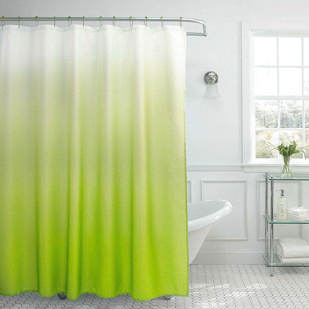Greenery в интерьере-Shower Curtain