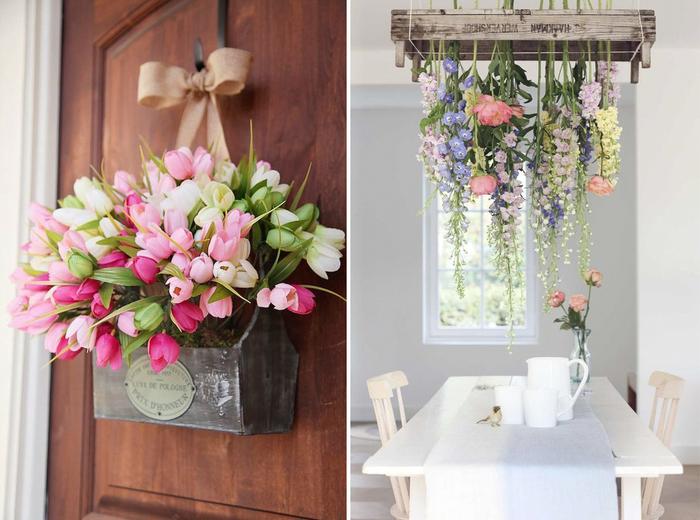 Цветы в интерьере-фото 4