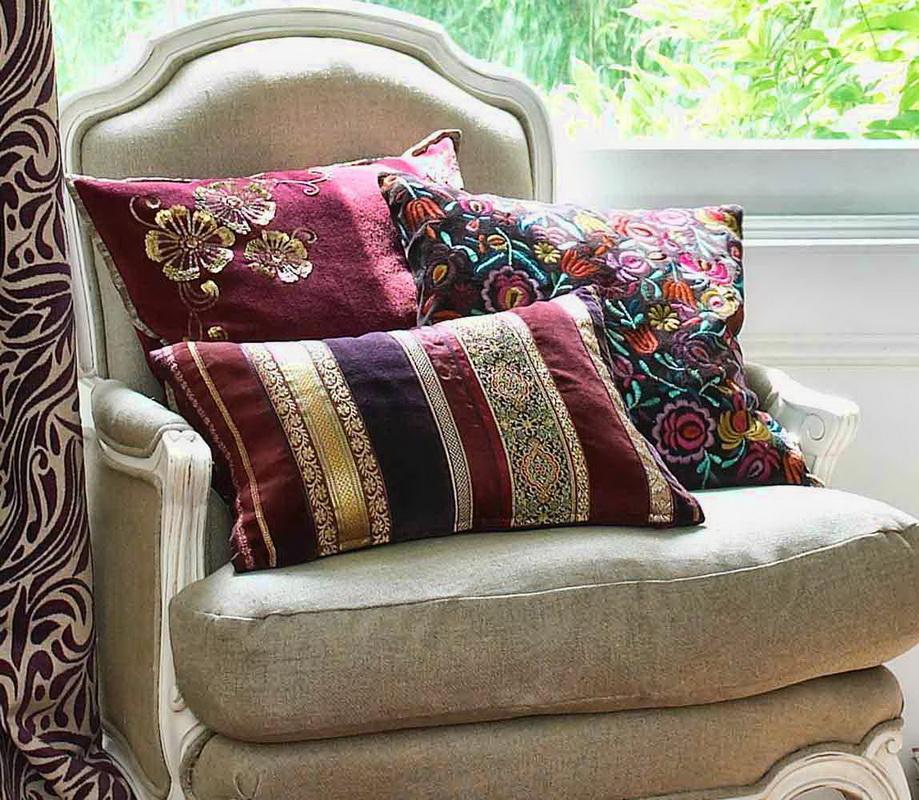 Подушки в современном интерьере-фото 2