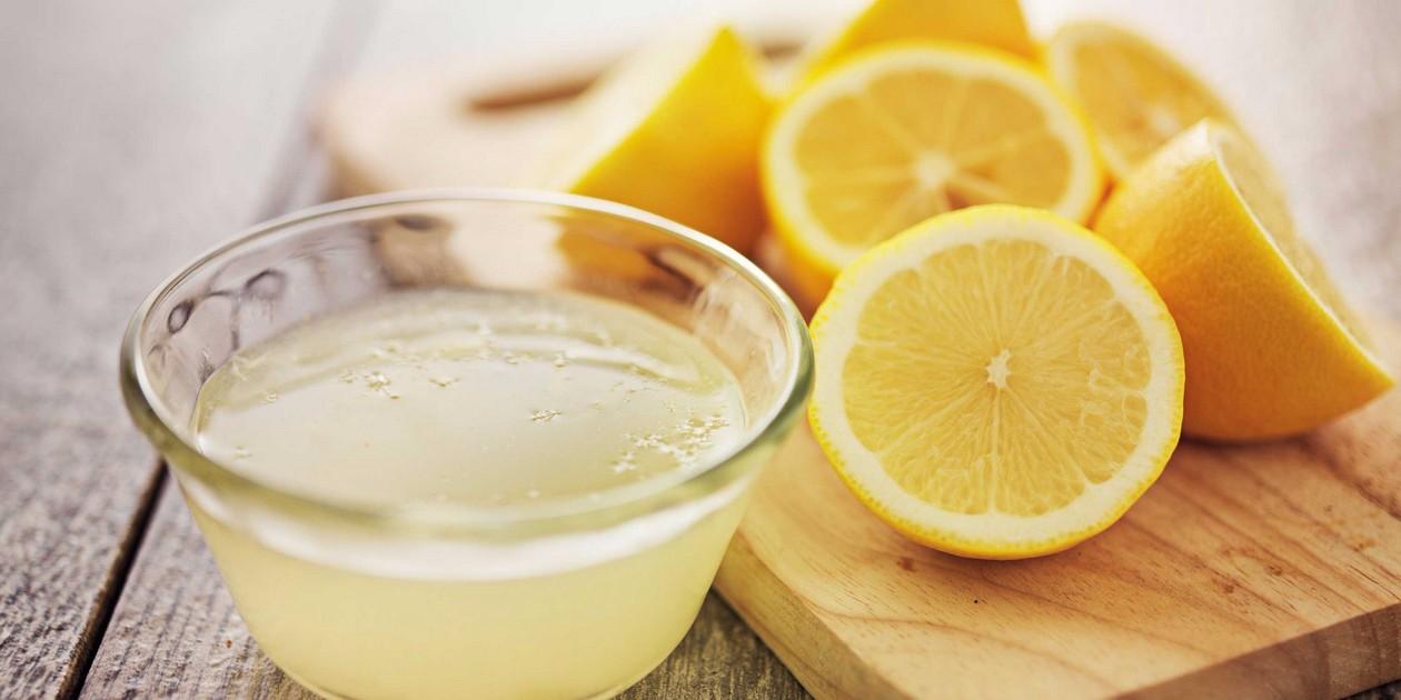 Сок лимона для маски