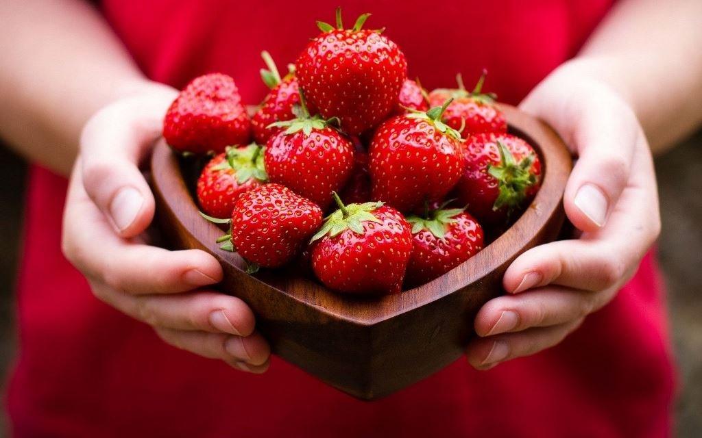 Берегите сердце – ешьте клубнику