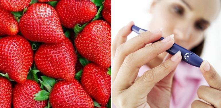 Клубника нормализует уровень сахара в крови