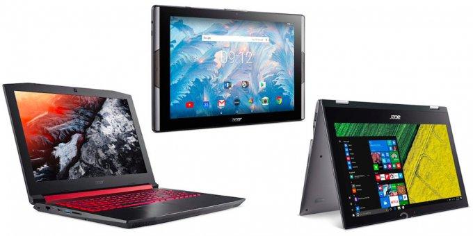 Планшет Iconia Tab 10 с квантовыми точками и другие новинки Acer (17 фото)