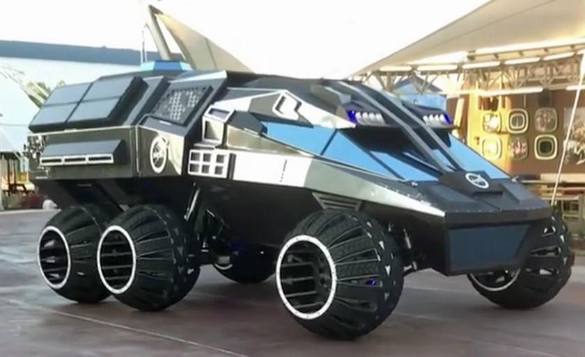 """The Batmobile"" NASA for the Mars"