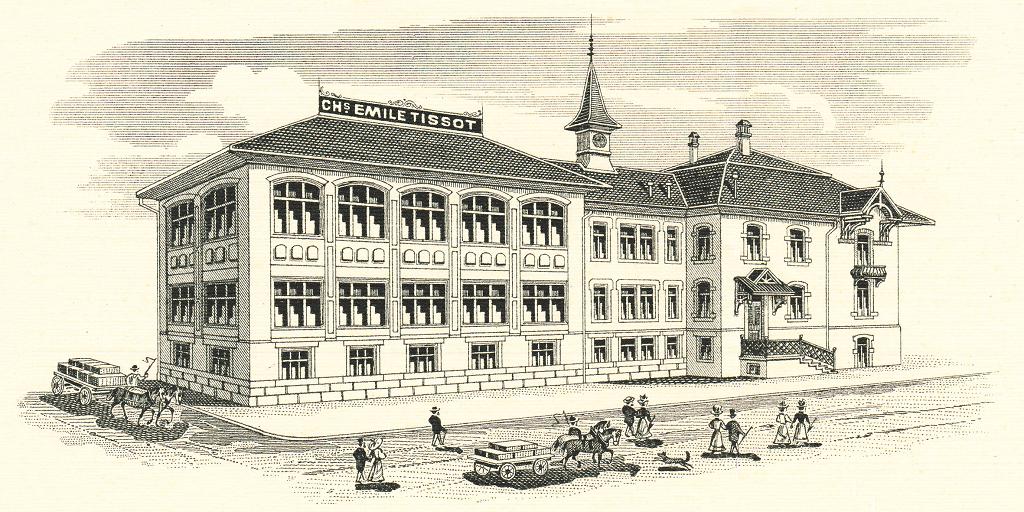 История часового бренда Tissot сделано в Швейцарии – Фабрика Tissot