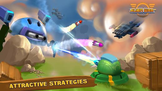 Топ-10 приложений для iOS и Android (1 - 7 мая) - Tower Defense. Alien War TD (3)