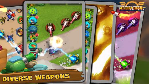 Топ-10 приложений для iOS и Android (1 - 7 мая) - Tower Defense. Alien War TD (4)