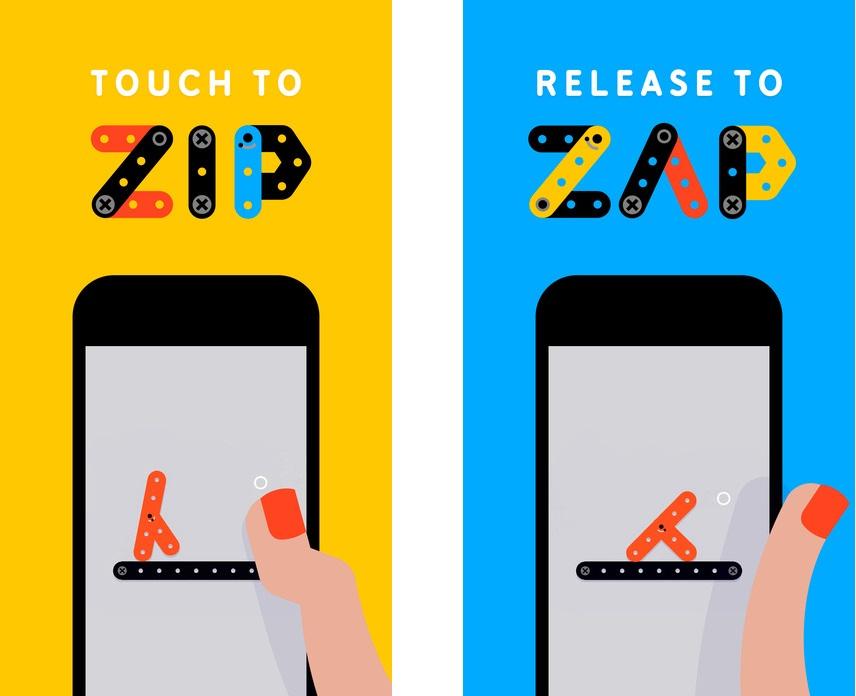 Топ-10 приложений для iOS и Android (1 - 7 мая) - Zip—Zap (1)