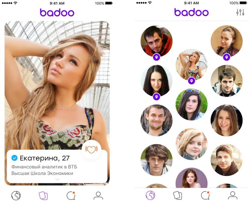 Топ-10 приложений для iOS и Android (8 - 14 мая) - Badoo (1)