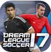 Топ-10 приложений для iOS и Android (8 - 14 мая) - Dream League Soccer 2017 Logo