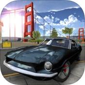Топ-10 приложений для iOS и Android (8 - 14 мая) - Extreme Car Driving Simulator. San Francisco Logo