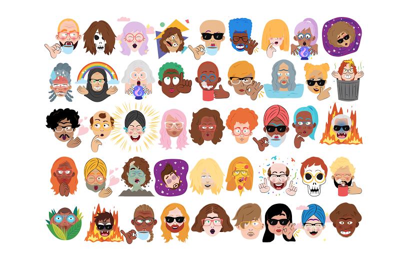 Обновленный Google Allo сделает из селфи персональный стикер