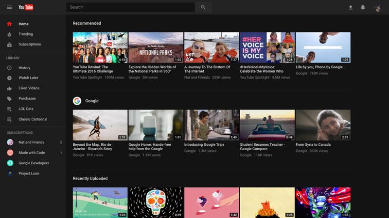 YouTube готовится к редизайну