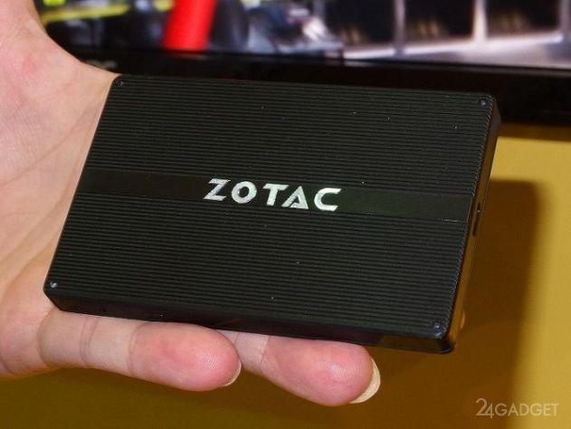 Миниатюрный компьютер ZOTAC Z Box PI225 (9 фото)