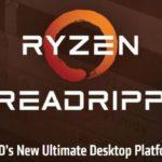11041 AMD announced processors Ryzen Threadripper and platform X399