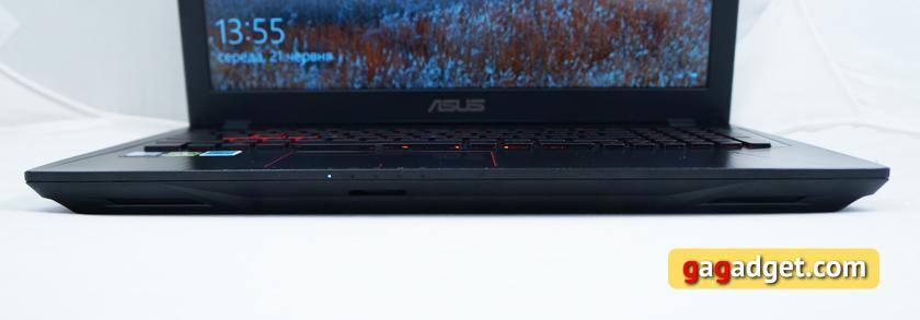 Обзор геймерского ноутбука ASUS FX553VD-16