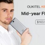 12621 [for publicity] Sale Oukitel K6000 Plus: smartphone-survivor for $163.99