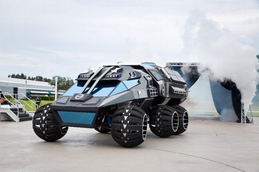 NASA introduced the Mars Rover lab