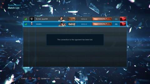 Online modes of the console Tekken 7 not working