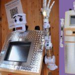 11605 Robot priest BlessU-2 (5 photos + video)