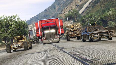 Grand Theft Auto data-Online