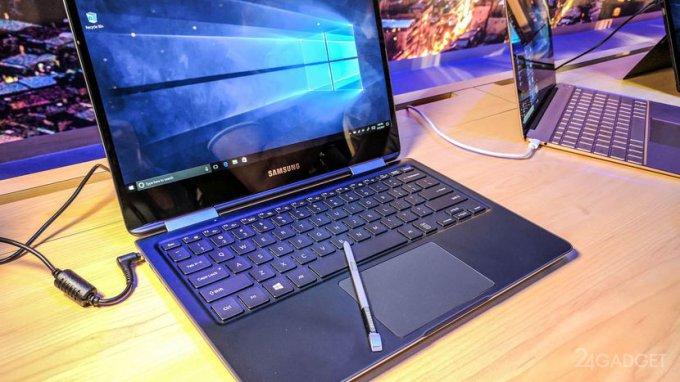 Samsung complements ultrabooks Notebook 9 Pro stylus pen (7 photos)