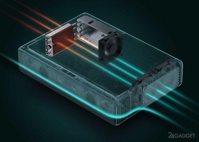 Короткофокусный проектор Mi Laser Projection TV от Xiaomi (6 фото)