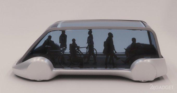 Концепт подземного электроавтобуса от Илона Маска (3 фото)