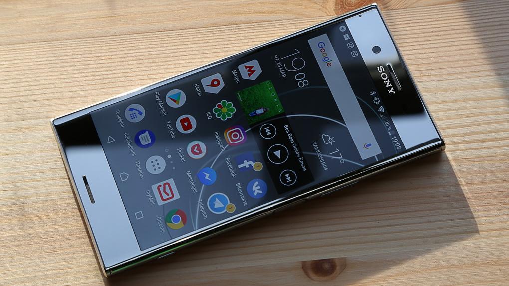 Sony Xperia XZ Premium-экран фото 5