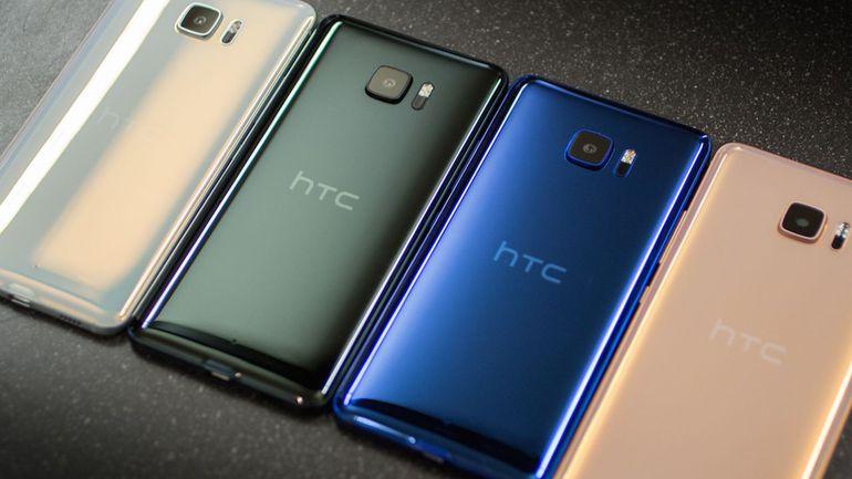 HTC U11-флагман расцветки