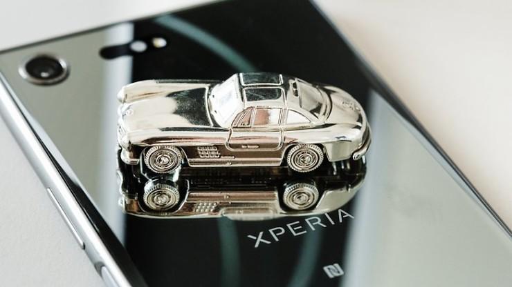 Sony Xperia XZ Premium-дизайн смартфона