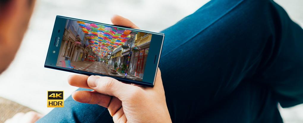 Sony Xperia XZ Premium-первый смартфон с 4K HDR-дисплеем