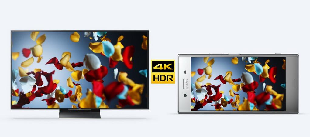 Sony Xperia XZ Premium-4K HDR-дисплей