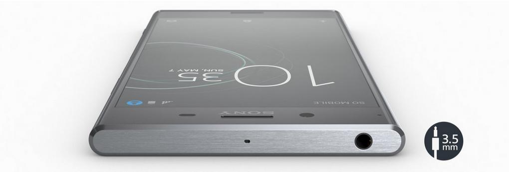 Sony Xperia XZ Premium-разъем для наушников