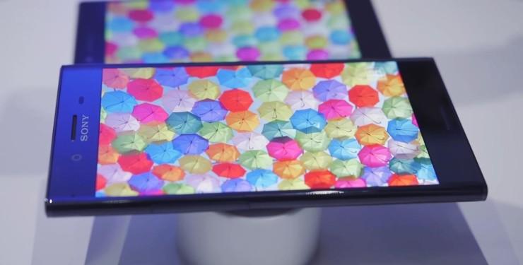 Sony Xperia XZ Premium-экран 4K