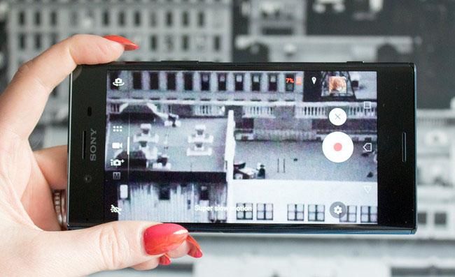 Sony Xperia XZ Premium-воспроизведение контента