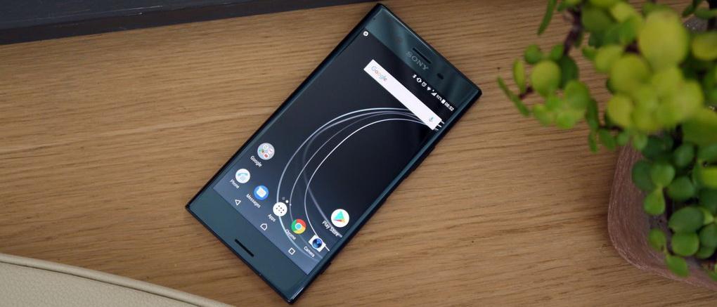 Sony Xperia XZ Premium-дизайн фото 4