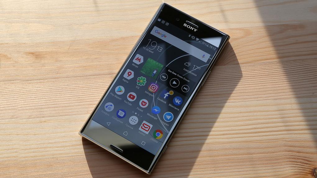Sony Xperia XZ Premium-экран фото 1