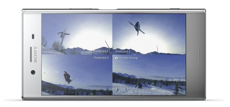 Sony Xperia XZ Premium-функция интеллектуальной съемки