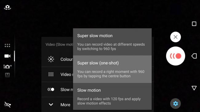 Sony Xperia XZ Premium-Super Slow Motion