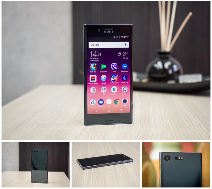 Sony Xperia XZ Premium-коллаж ракурсы