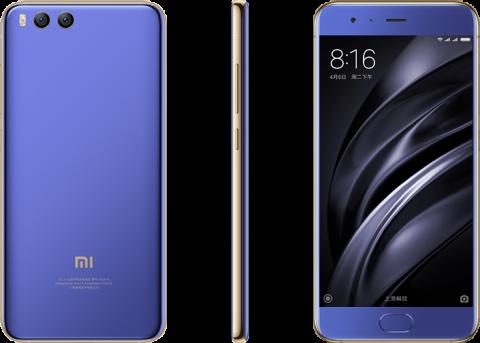 Xiaomi Mi6 unlocked using the fingerprint scanner in the screen