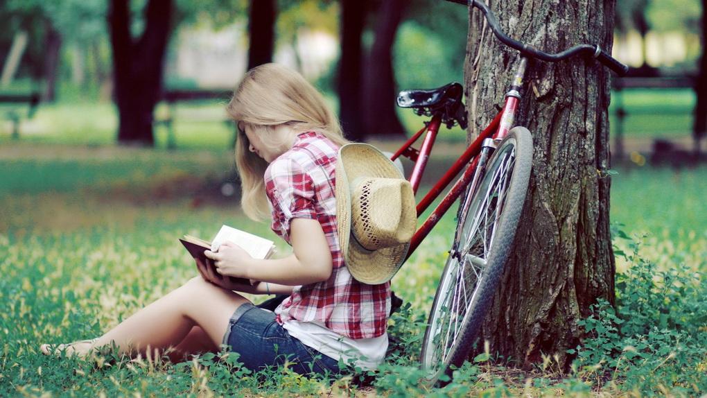 Чтение на природе-фото