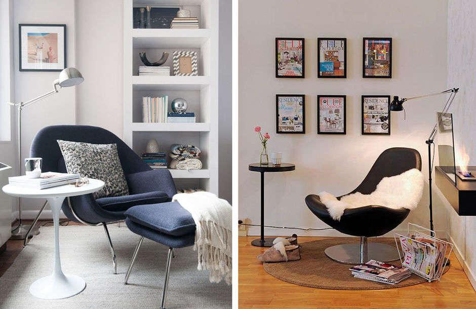 Кресло для чтения-интерьер