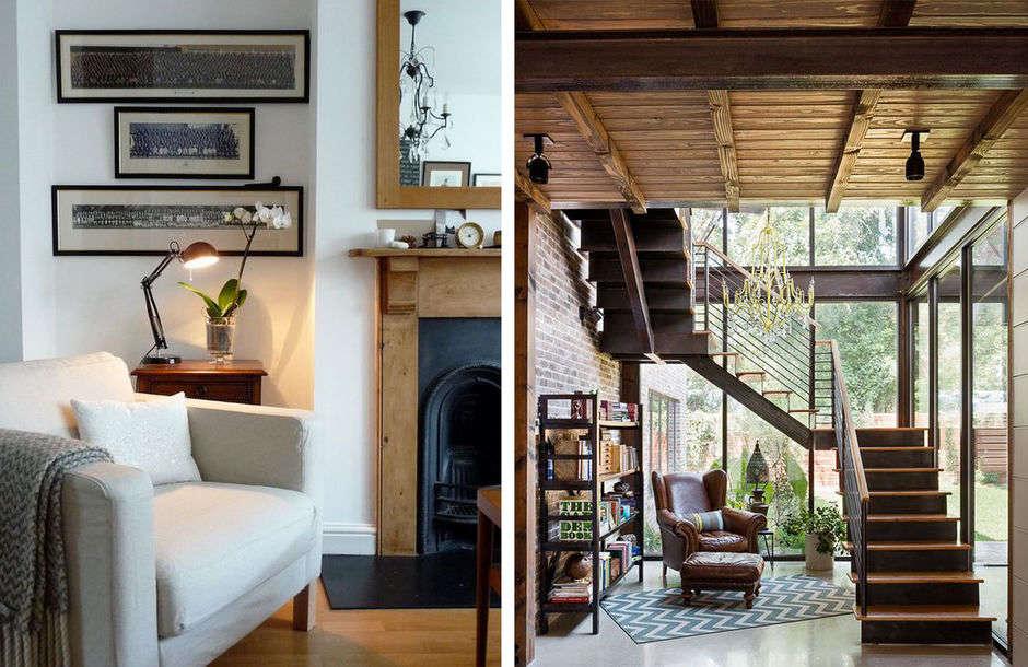 Кресло для чтения-в интерьере