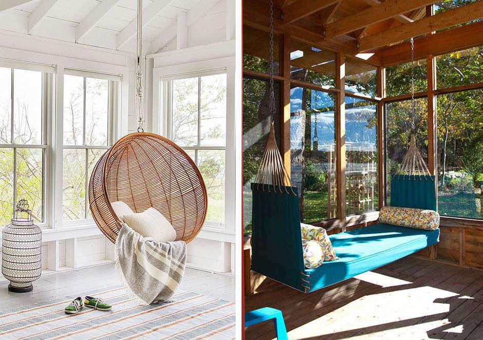 Зона для чтения-подвесные конструкции