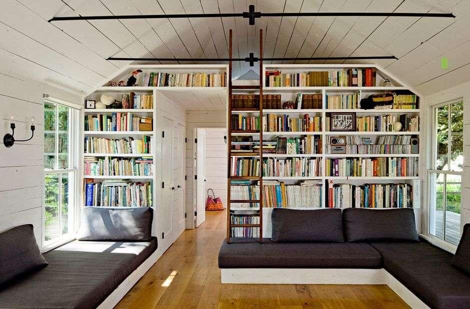 Домашняя бибиотека-рай книголюба