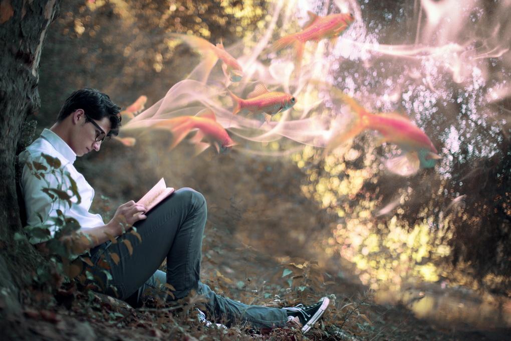 Чтение-развивает фантазию