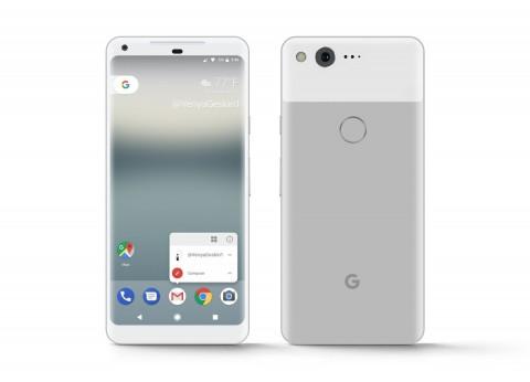 2017 Google Pixel XL Very Silver